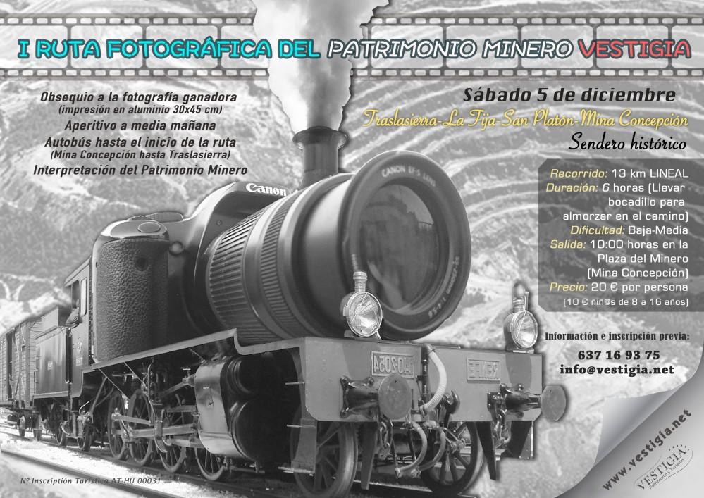 Cartel ruta foto minera br