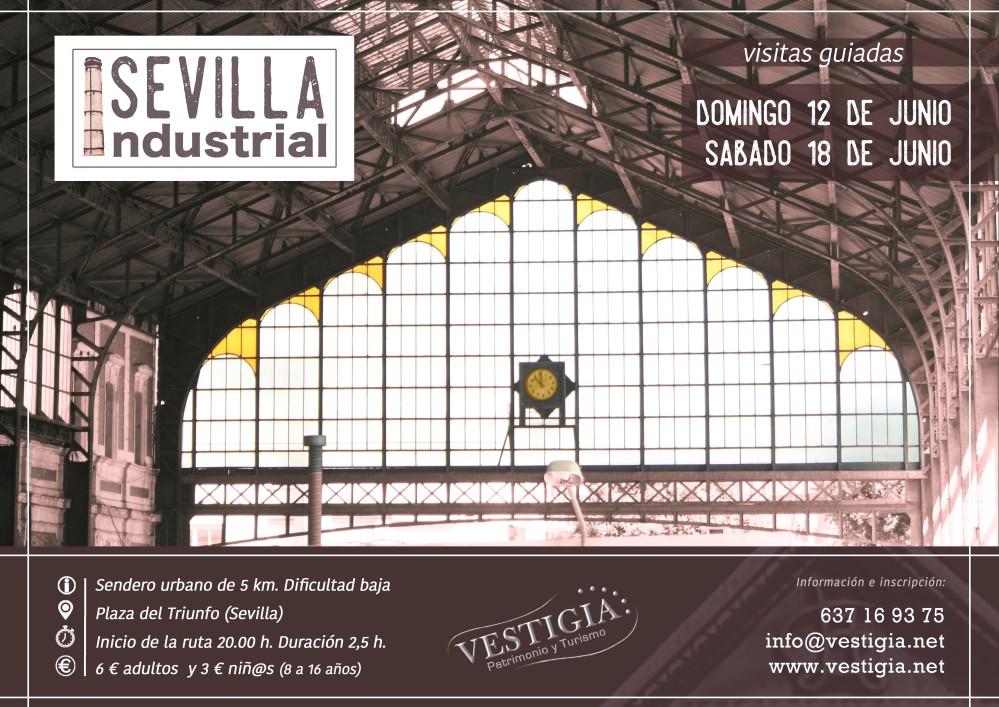 Cartel Sevilla Industrial br